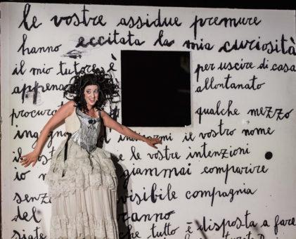 Gianuligi Toccafondo, opera, Reut Ventorero, Teatro dell'Opera di roma, Yasuko Kageyama, mezzosoprano , Rosina, Rossini, Manuel Amati, OperaCamion,