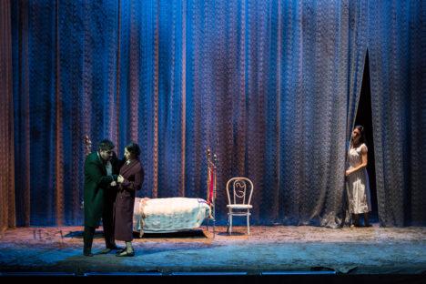 Piero Prett, Ivan Magrì, Luca Salsi,  Lisette Oropesa,  opera, Reut Ventorero, Teatro dell'Opera di roma, Yasuko Kageyama, mezzosoprano, Leo Muscato, Michele Gamba